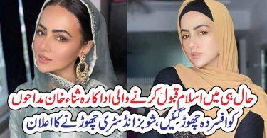 اداکارہ ثناء خان