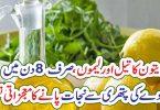 زیتون کا تیل اور لیموں